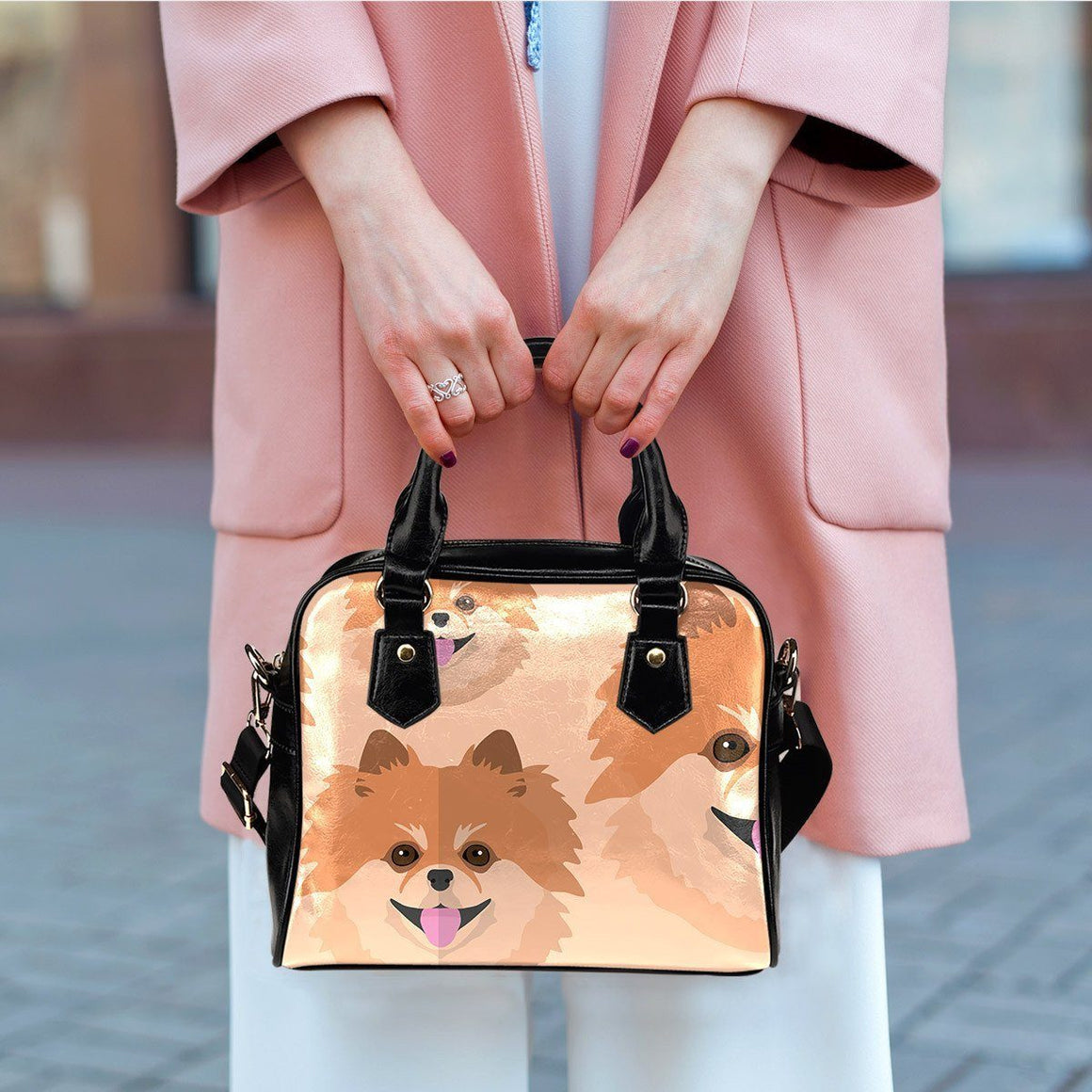 Pomeranian Lover Shoulder Bag