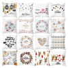 Christmas Decoration 2 Themed Throw Pillow Covers