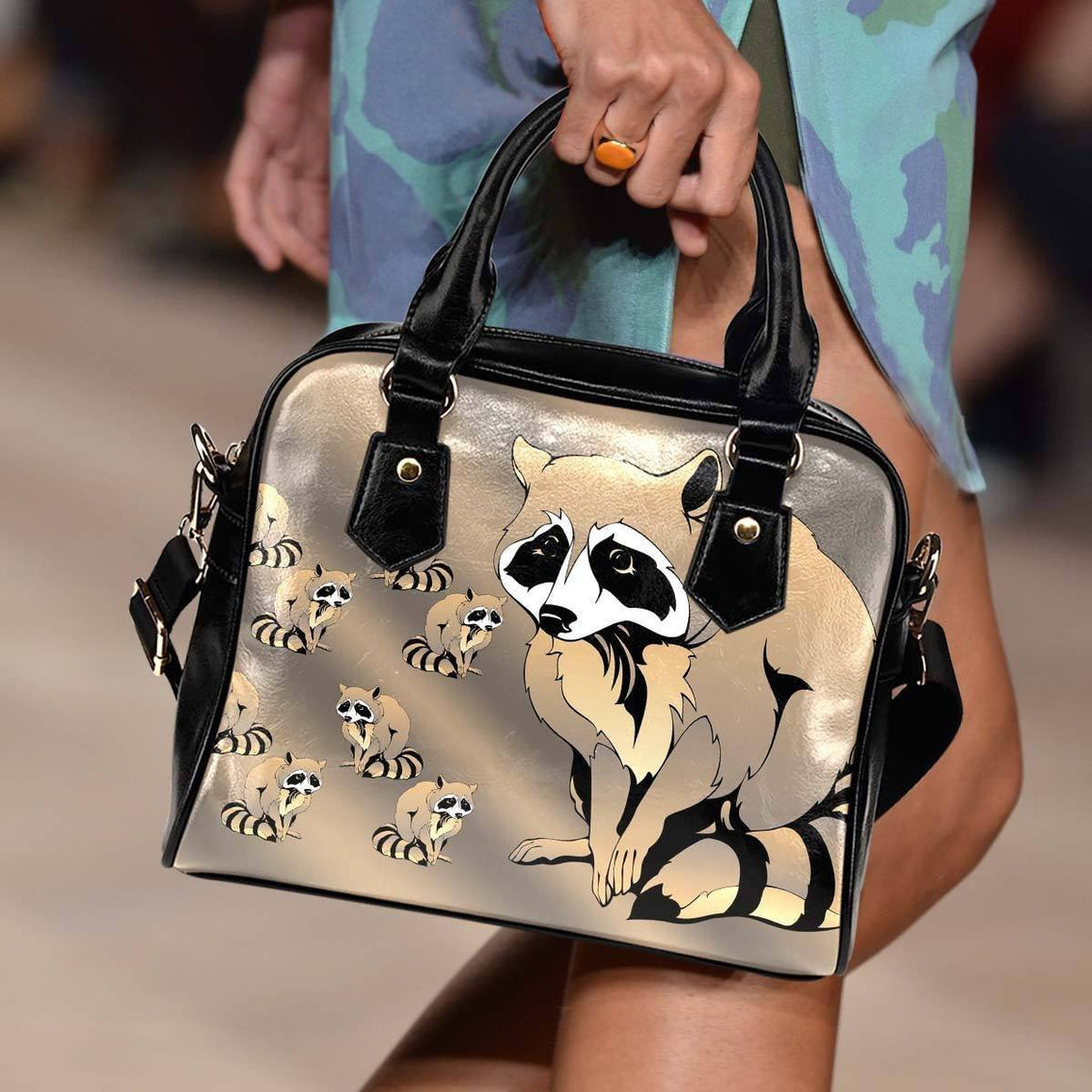 Racoon Shoulder Bag