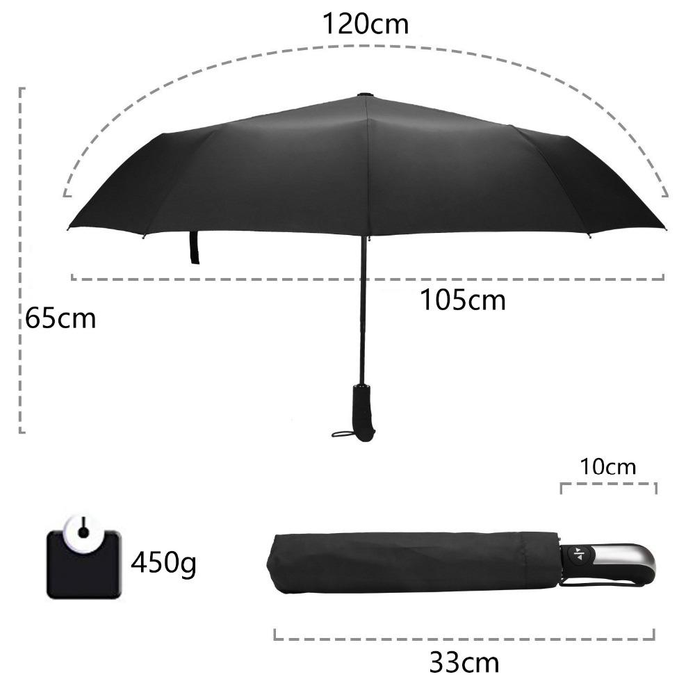 Luxury Wind Resistant Automatic Umbrella