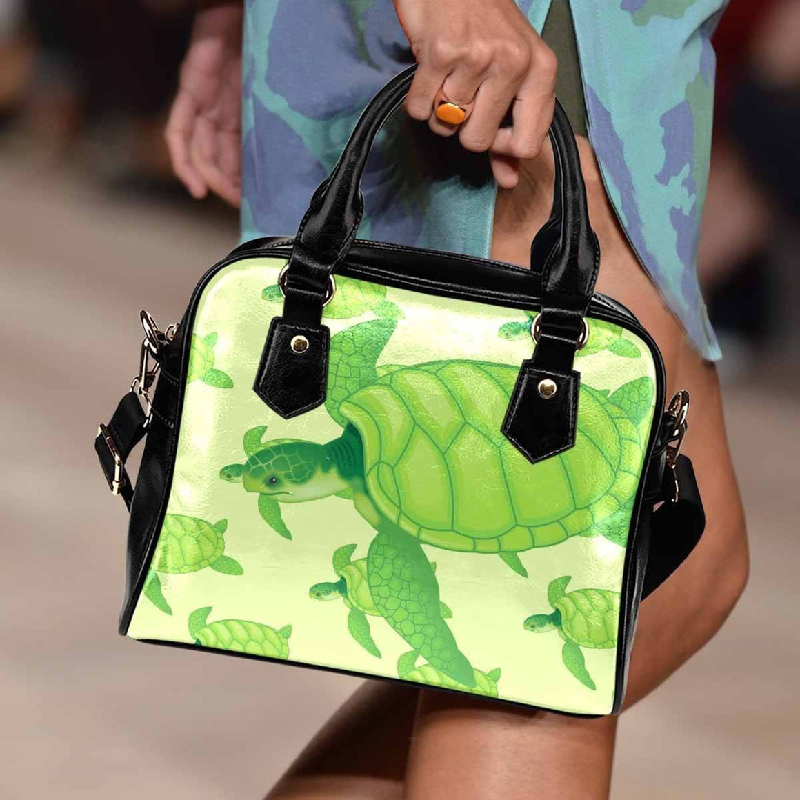 Sea Turtle Shoulder Bag