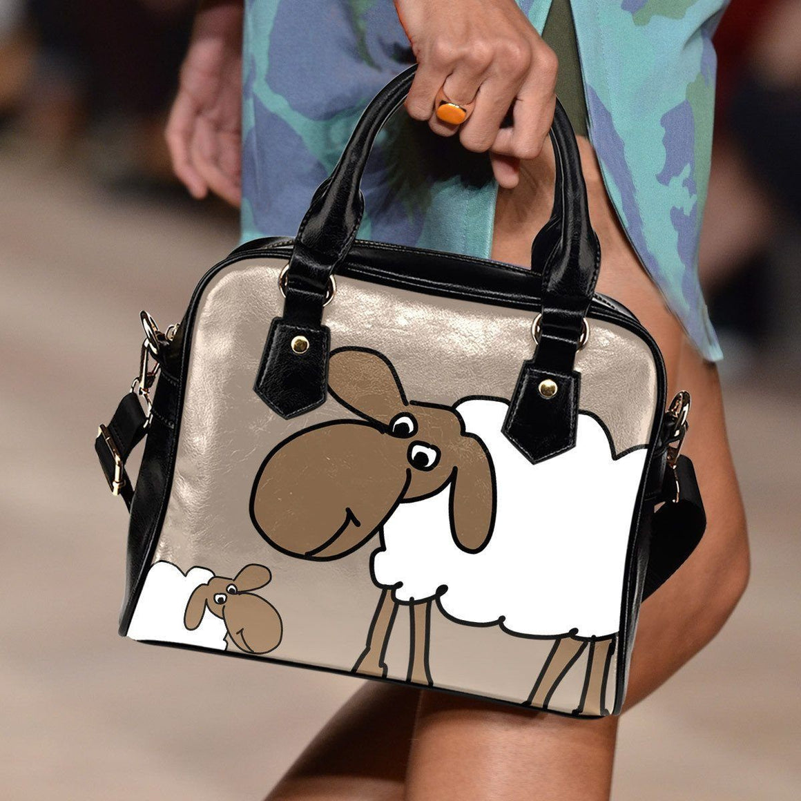 Sheep Shoulder Bag