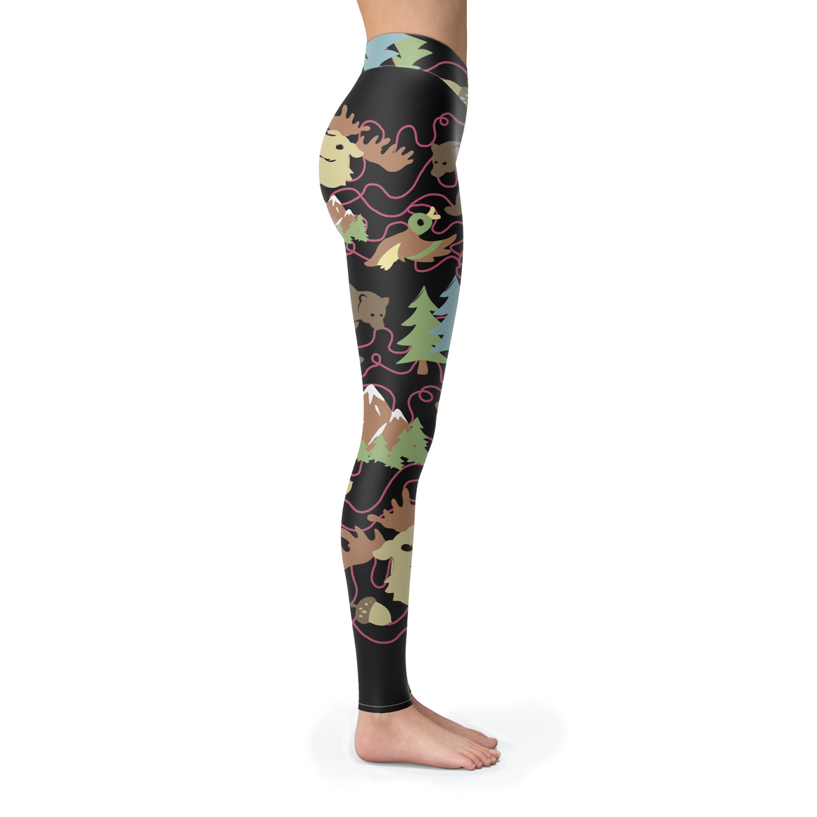 3 Forest Leggings