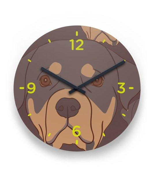 Rottweiler Lover Wall Clock