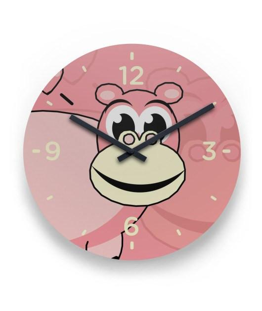 Hippo Wall Clock