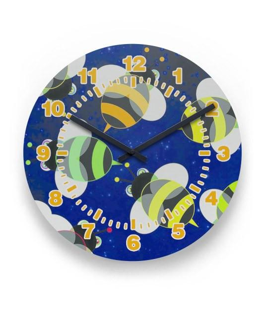 Bee 2 Wall Clock