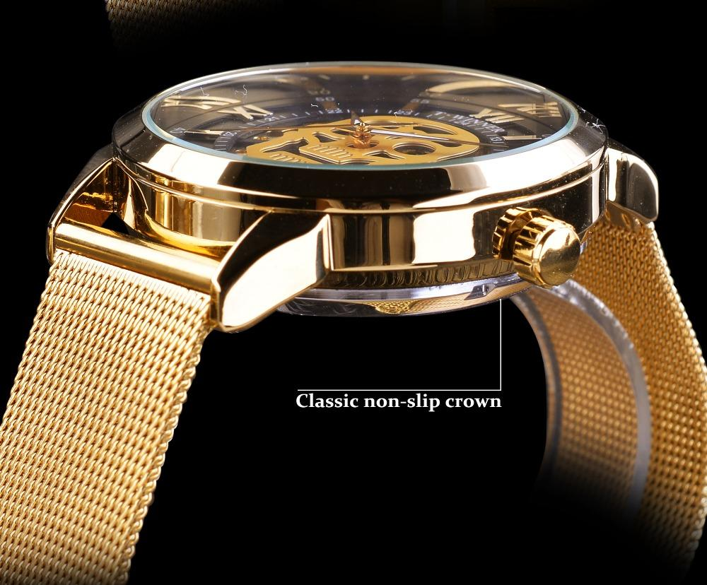 Golden Skull Watch