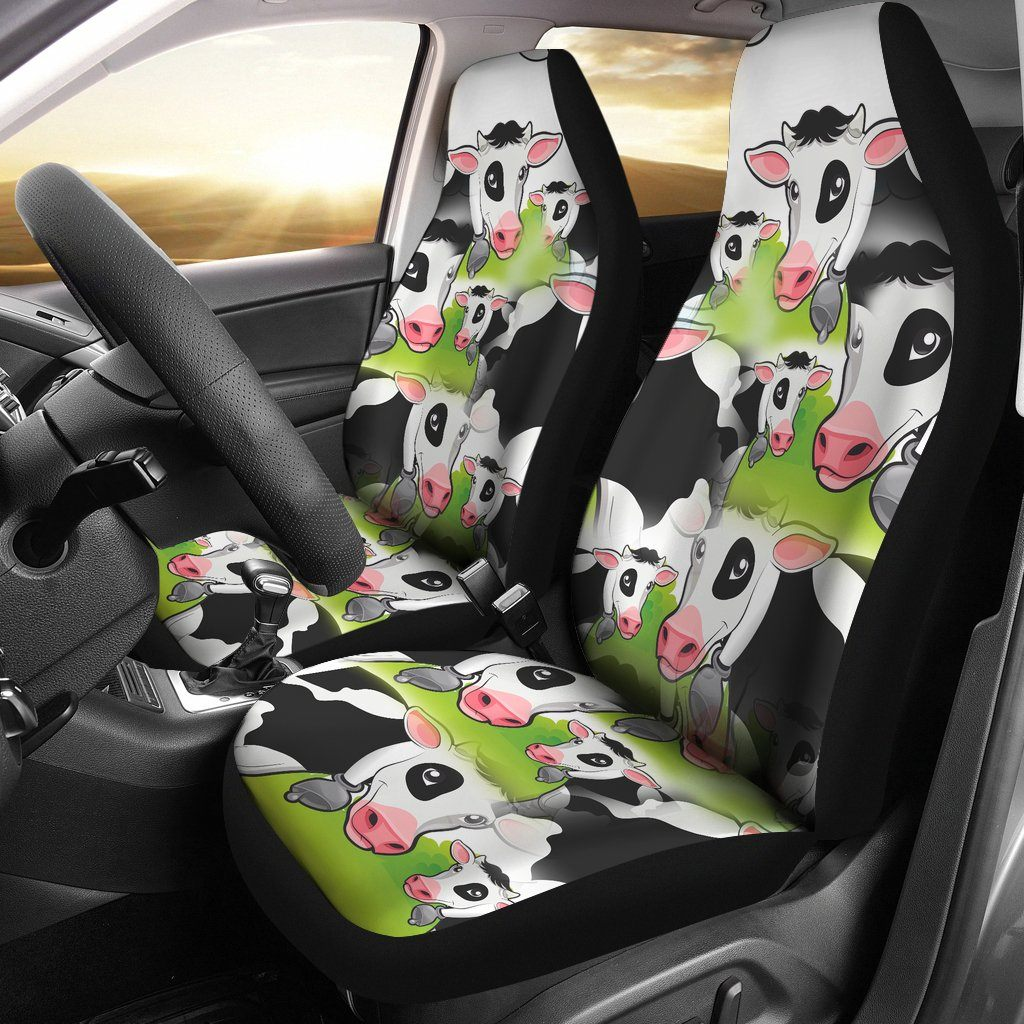Cow Car Seat Covers Velcromag