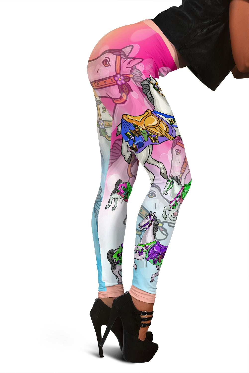 Carousel Horse Leggings