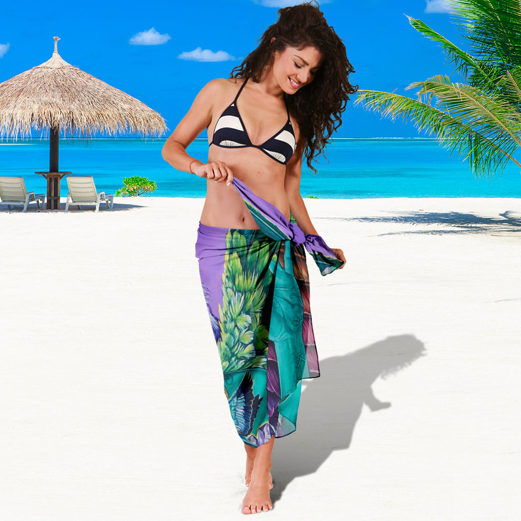 INDEPENDENT SOUL SARONG BEACH COVER UP SWIMSUITS POOL ONE PIECE  SHAWL SCARF WRAP UP