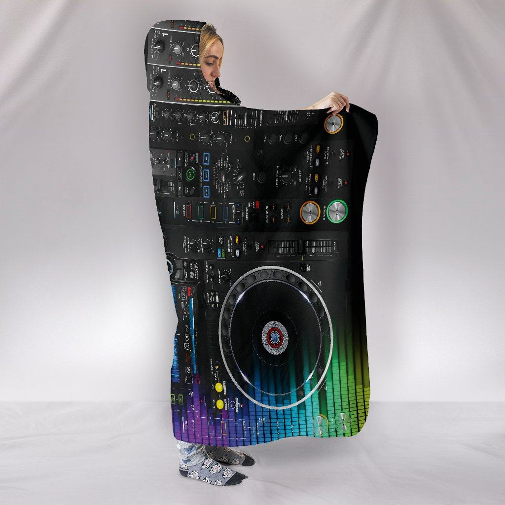DJ Themed Hooded Blanket
