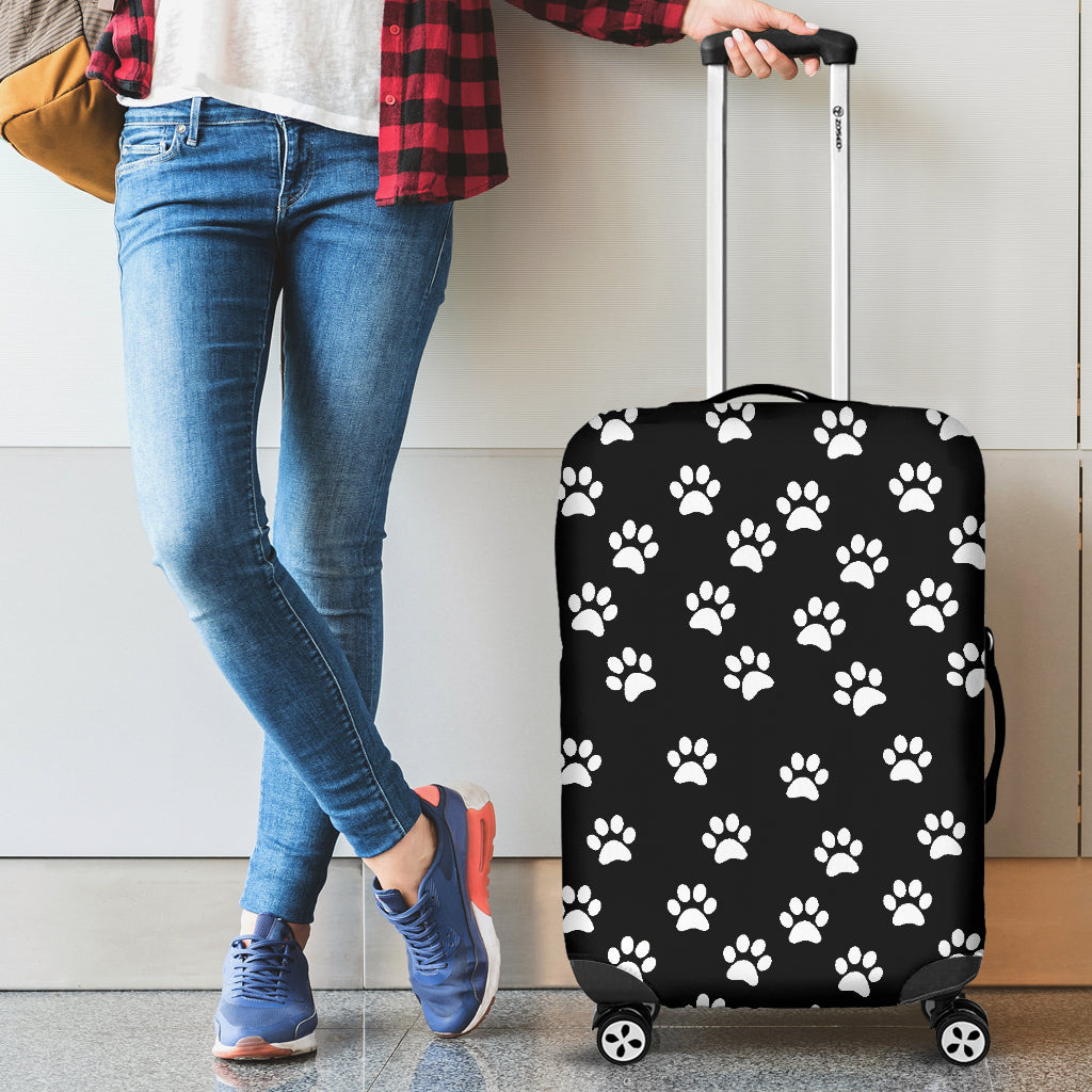 Paw Prints Luggage Cover