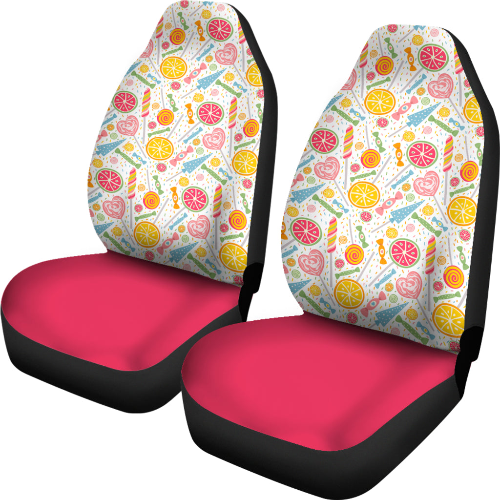Candy Themed Car Seat Covers (SET OF 2)