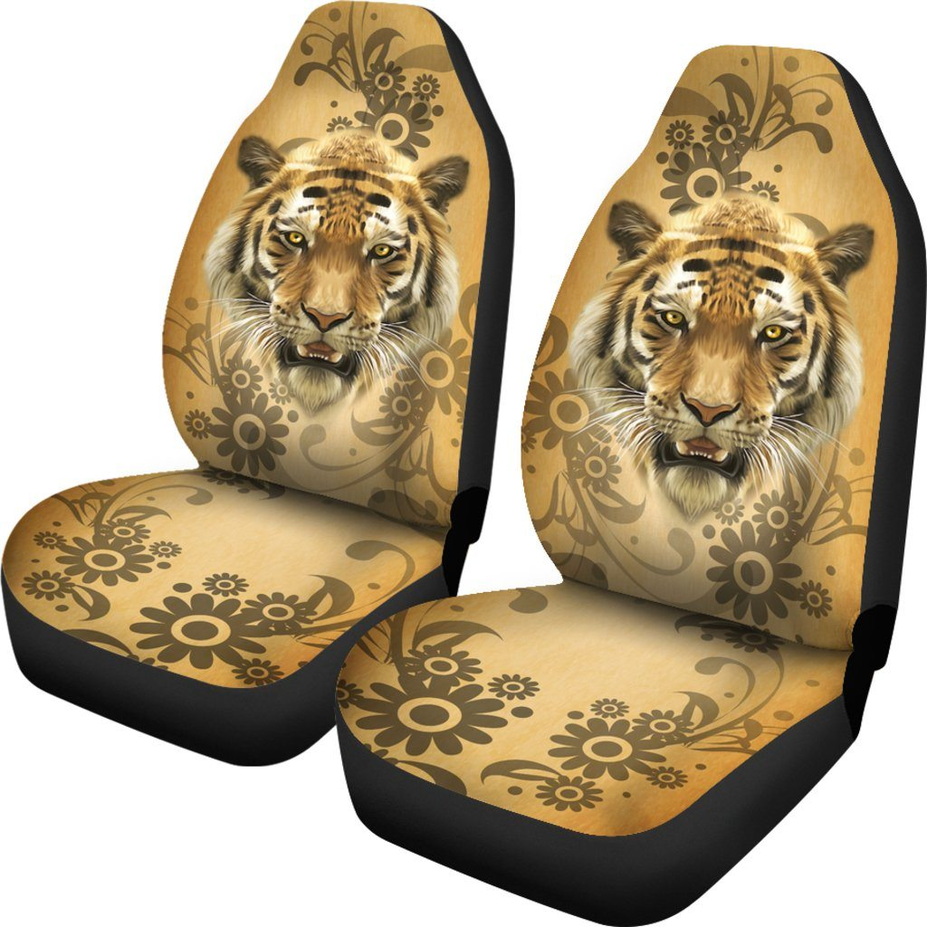 TIGER CAR SEAT COVERS (SET OF 2)