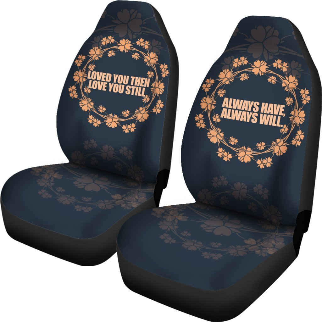 Buy LOVED CAR SEAT COVERS (SET OF 2): Seat Covers | Seat Covers