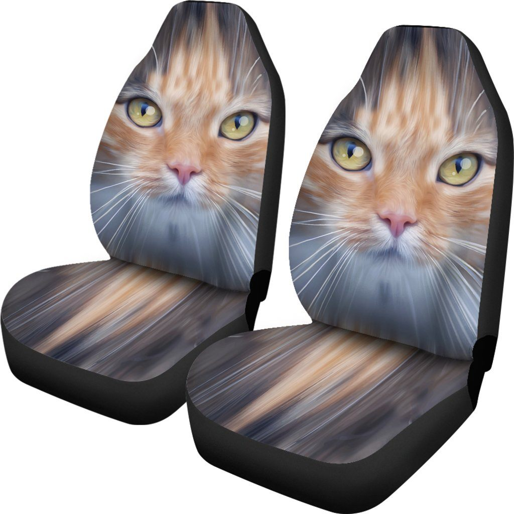 Cat Eyes Themed Car Seat Covers (SET OF 2)