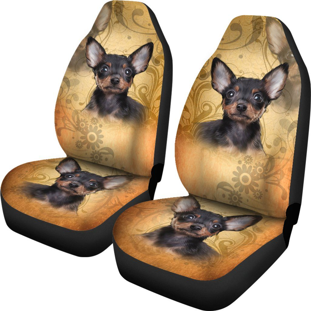 CHIHUAHUA LOVE CAR SEAT COVERS (SET OF 2)