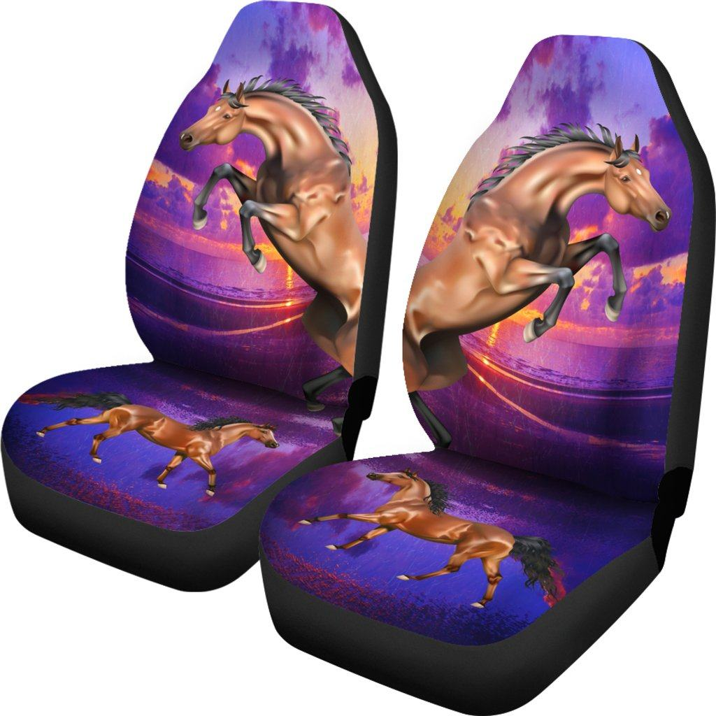 HORSE LOVE CAR SEAT COVERS (SET OF 2)