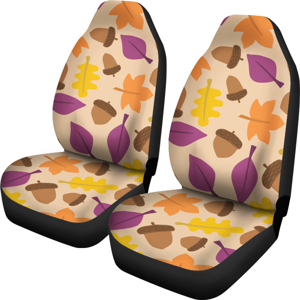Acorn Themed Car Seat Covers (SET OF 2)