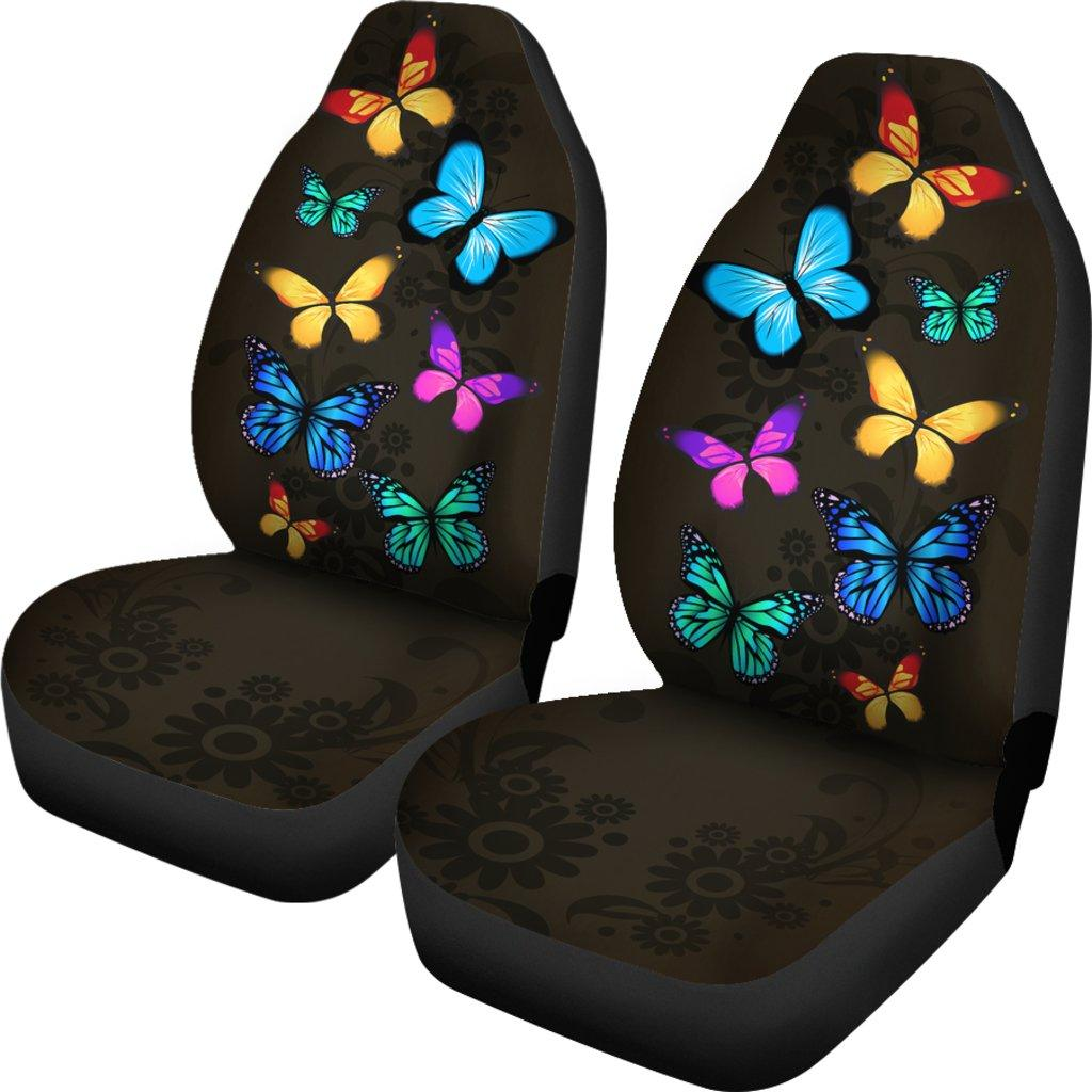 Butterfly Lover Themed Car Seat Covers (SET OF 2)