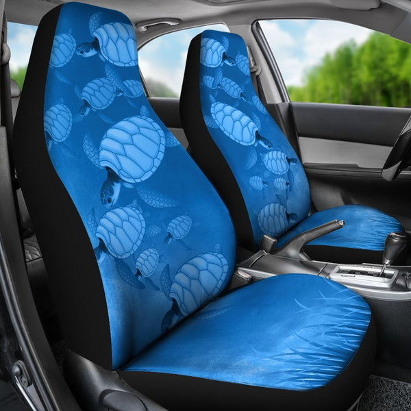 Miraculous Turtle Lover Car Seat Covers Set Of 2 Uwap Interior Chair Design Uwaporg