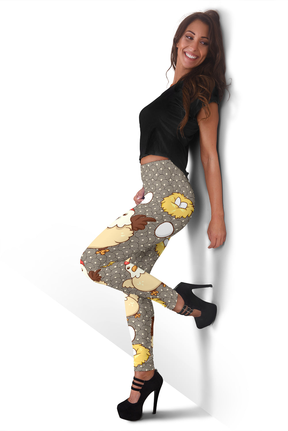Chicken and Eggs Leggings