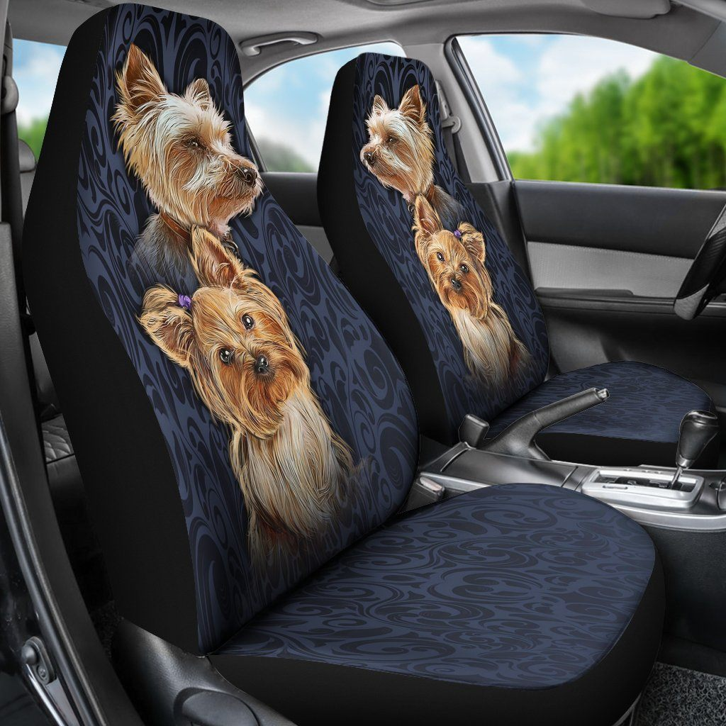 Outstanding Buy Yorkshire Terrier Car Seat Covers Set Of 2 Seat Alphanode Cool Chair Designs And Ideas Alphanodeonline