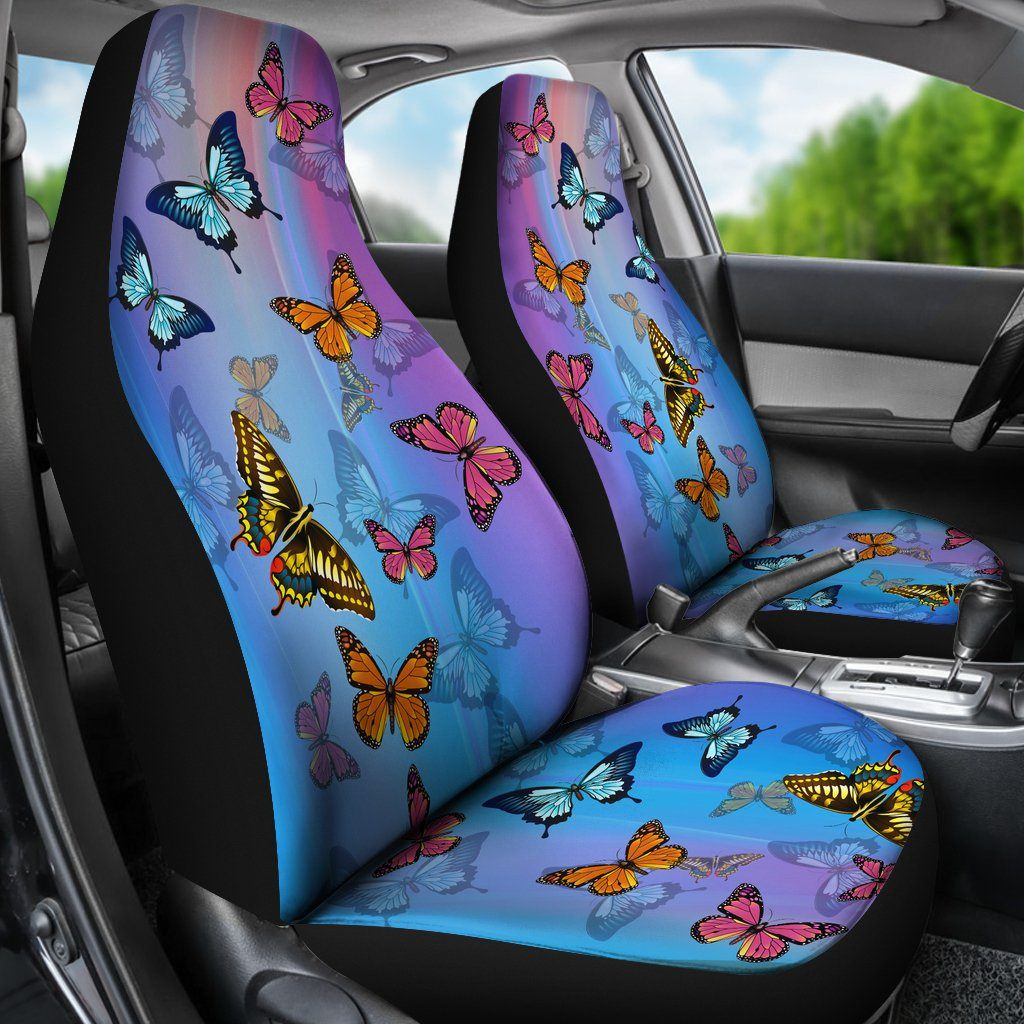 Butterfly Car Seat Covers SET OF 2
