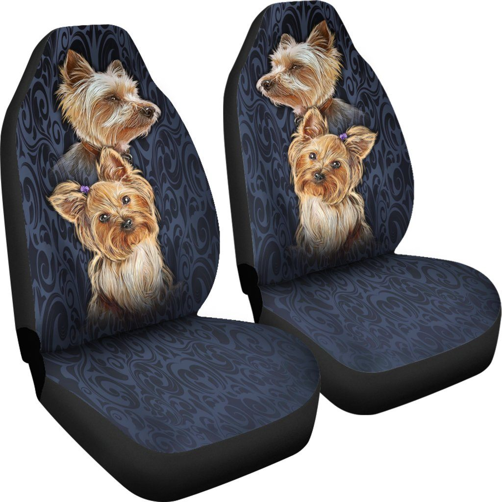 Phenomenal Buy Yorkshire Terrier Car Seat Covers Set Of 2 Seat Alphanode Cool Chair Designs And Ideas Alphanodeonline