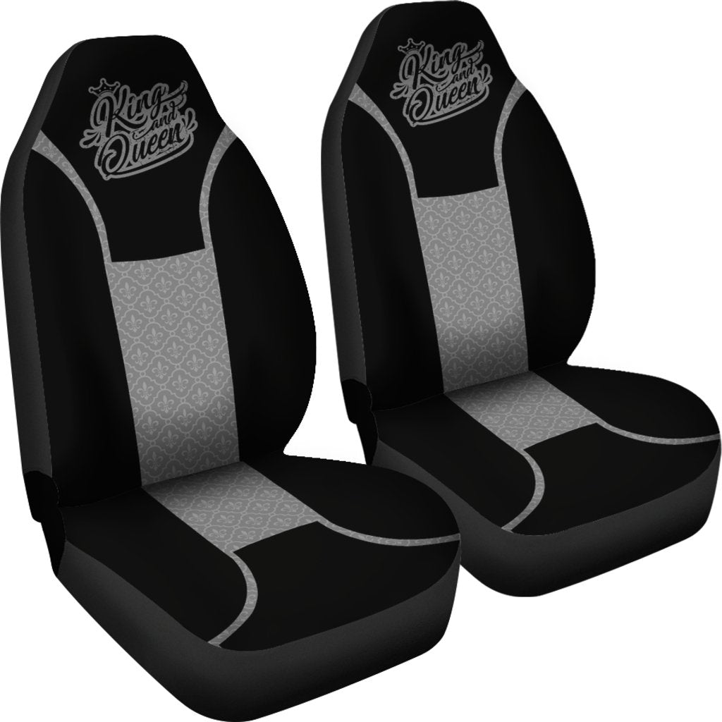 KING QUEEN CAR SEAT COVERS SET OF 2