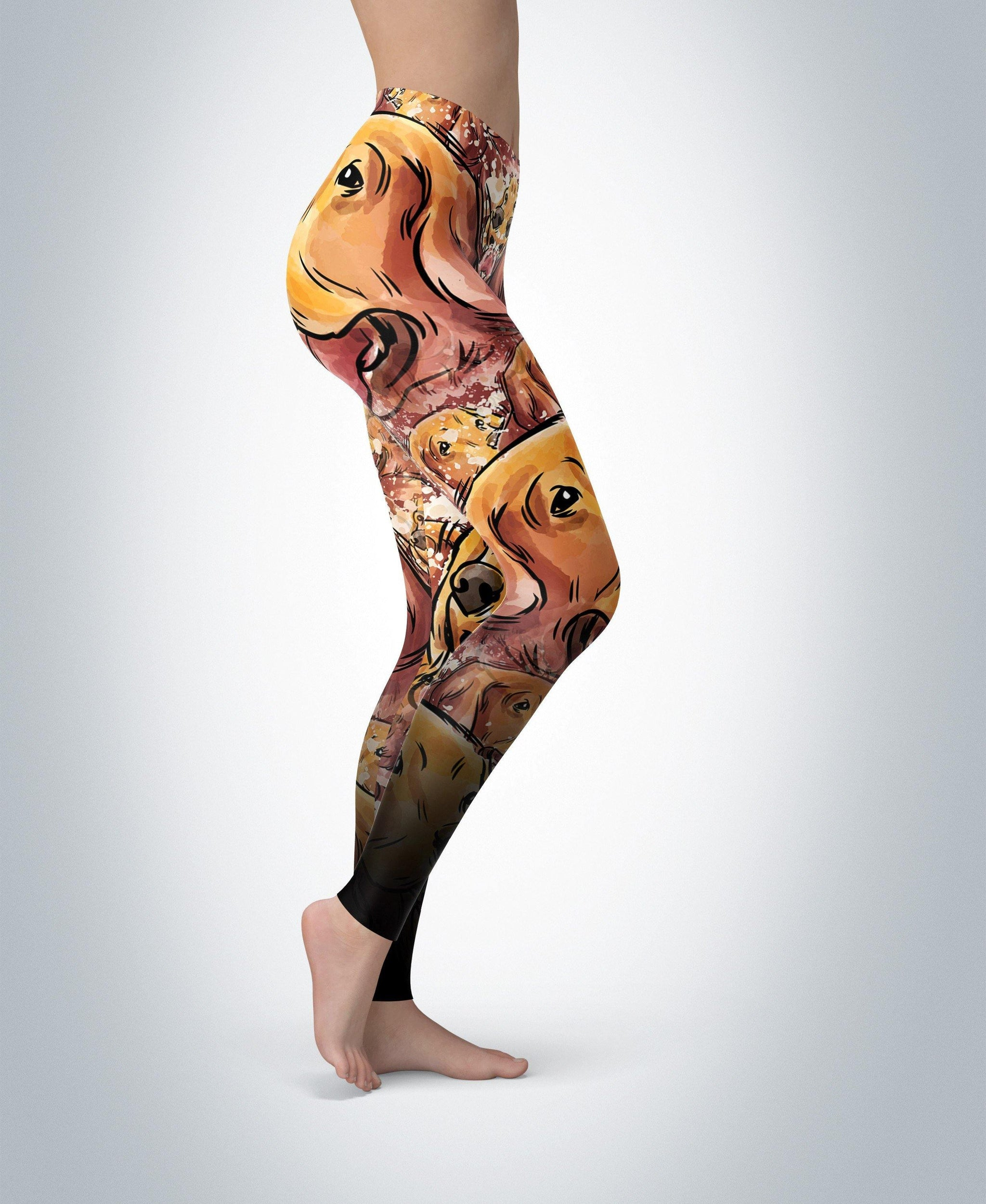 fb1806dc6c797 Buy Golden Retriever Leggings: Leggings | Leggings