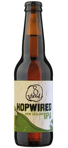 8 Wired Hopwired IPA 330ml Bottle