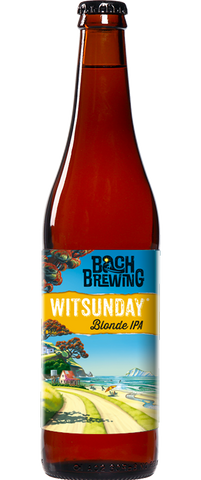 Bach Brewing Witsunday Blonde IPA 500ml Bottle