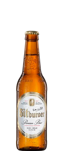 Bitburger Premium Pils 0% Alcohol 330ml Bottle