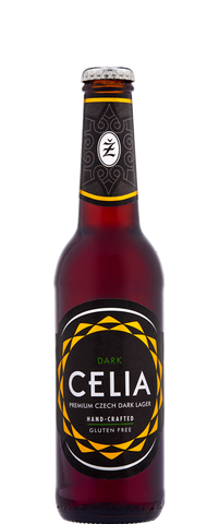 Carlsberg Celia Dark Gluten Free Beer (24x 330ml Bottles)