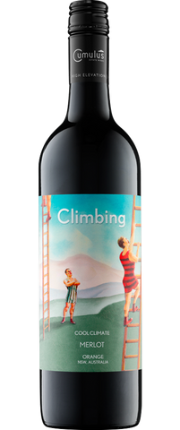 12 Bottles Cumulus Climbing Merlot 2015 & Knife Set