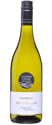 Coopers Creek Select Vineyards Plainsman Chardonnay 2016