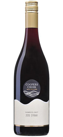 Coopers Creek Hawke's Bay Syrah 2013