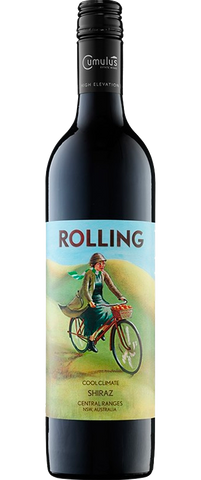 12 Bottles of Cumulus Rolling Shiraz 2016 & Slate Cheese Board