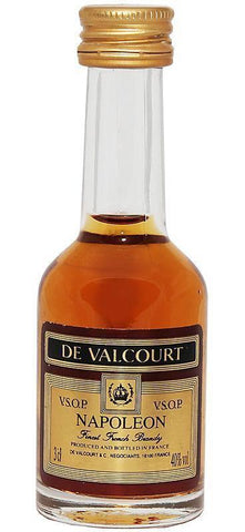 De Valcourt VSOP Brandy 37% 50Ml Miniature