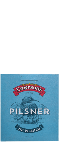 6 Bottles of Emersons Pilsner (6x 330ml bottles)