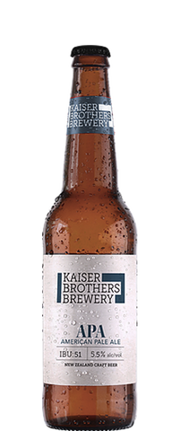 Kaiser Brothers Brewery American Pale Ale 500ml Bottle