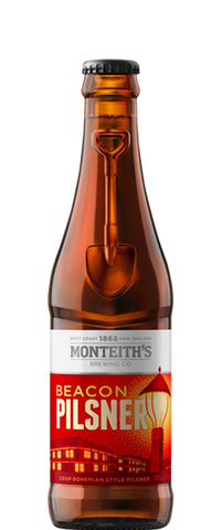 Monteith's Beacon Pilsner (12x 330ml Bottles)