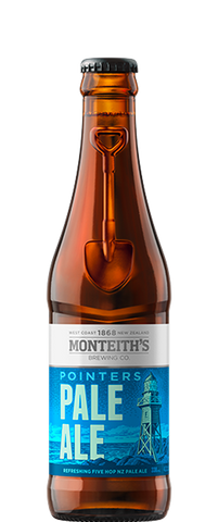 Monteith's Pointers Pale Ale (12x 330ml Bottles)
