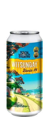 Bach Brewing Witsunday Blonde IPA 440ml Can