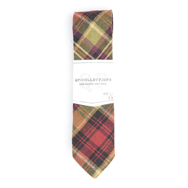 MY THEORY MEN'S PLAID CASUAL NECKTIE - Gimmerton