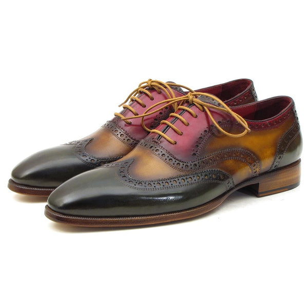 PAUL PARKMAN VLAD MEN'S WINGTIP OXFORDS