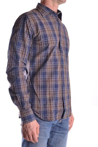 BROUBACK PLAID COUNTRY HUSTLE MEN'S LONG SLEEVE SHIRT