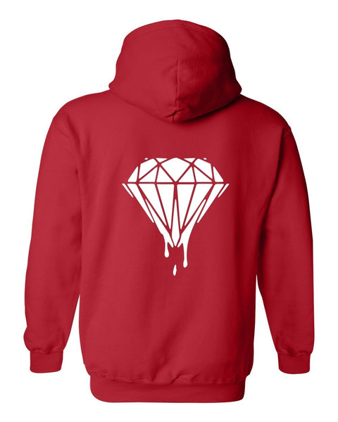 DIAMOND IN THE ROUGH HOODIE MEN'S SWEATER