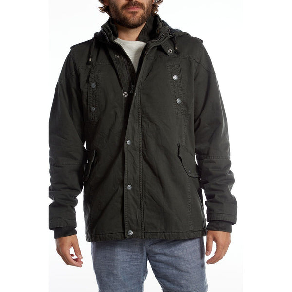 HAULIN' IN THE HAY CHARCOAL MEN'S JACKET